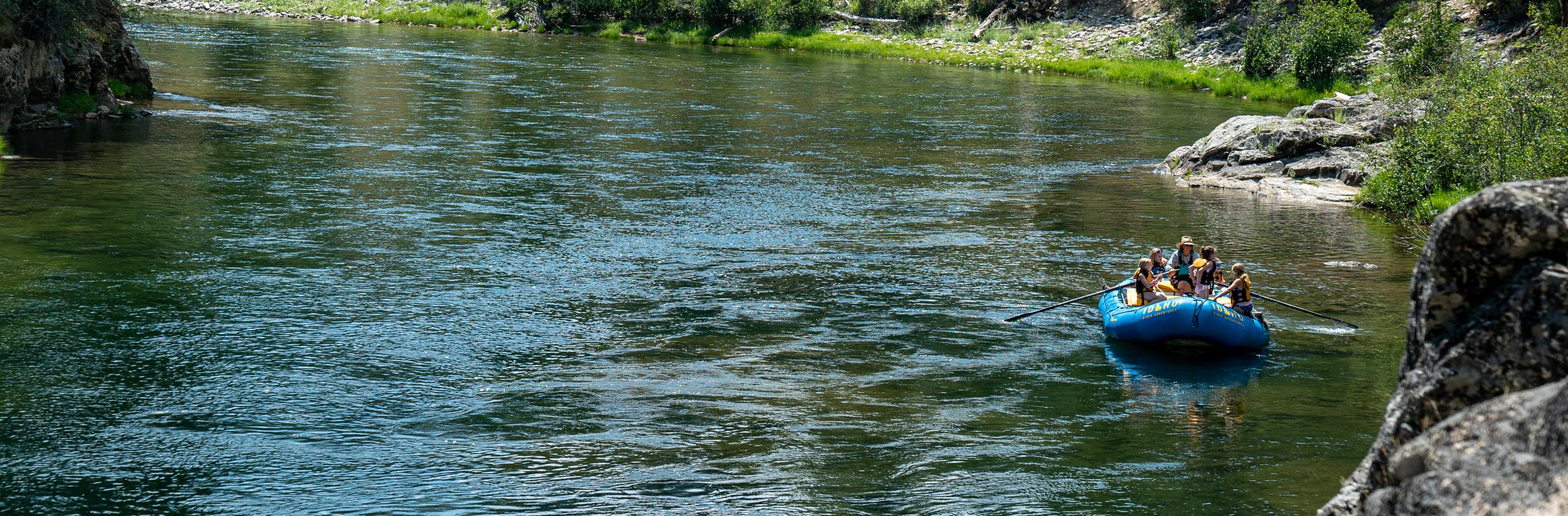 Salmon River Rafting